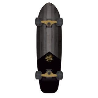 "Santa Cruz Complete Longboards. Gold Opus Jammer 33"" Black / Gold"