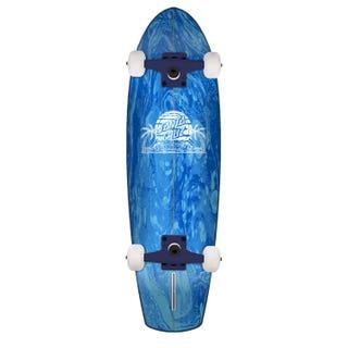 "Santa Cruz Complete Longboards. A Frame Street Shark 30.97"" Blue"