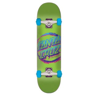 Santa Cruz Skateboards Completes. Throwdown Dot 7.75 Green
