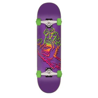 "Santa Cruz Skateboards Completes. Throwdown Hand 7.75"" Purple"