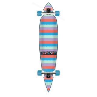 "Santa Cruz Longboards. Colored Strip Cruzer Pintail 43.59"" Multi"