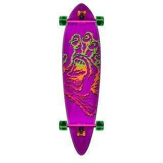 "Santa Cruz Longboards. Throwdown Hand Cruzer Pintail 39"" Purple"