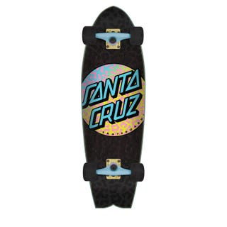 "Santa Cruz Complete Longboards. Prowl Dot 8.8"" Black."