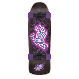 """Santa Cruz Electro Hand Mini 26.09"""" Black / Purple"""