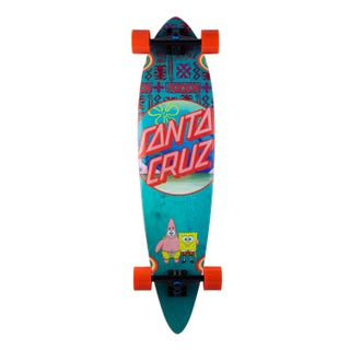 "Santa Cruz EU SpongeBob Best Buds Cruzer Complete 9.58"" Blue"