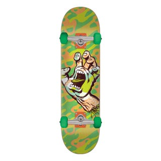 """Primary Hand 8"""" Skateboard Complete Green"""