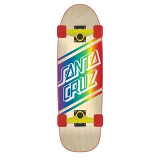 Santa Cruz Street Skate Cruzer Complete Skateboard Multi
