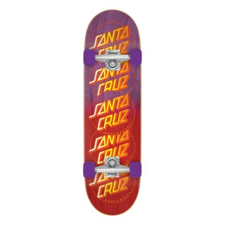 "Santa Cruz Classic Dot Stack Popsicle Complete Cruiser 32"""