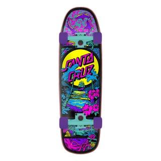 Santa Cruz Time Warp Shaped Cruzer 32.26 Skateboard Complete