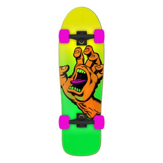 Santa Cruz Skateboards Missing Hand Shaped Cruzer 31.7""