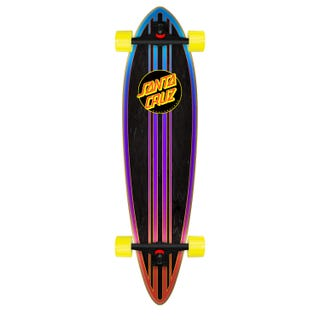 "Santa Cruz Sundown Pintail 39"" Skateboard Complete Multi"