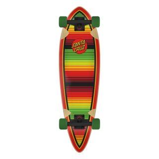 "Santa Cruz Serape Dot 33"" Skateboard Complete"