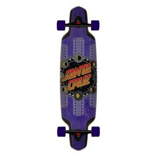 "Santa Cruz Phase Dot 37.52"" Skateboard Complete Purple"