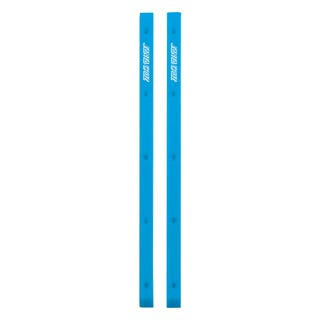 Santa Cruz Skateboards - Cell Block Slimline Rails - Cyan