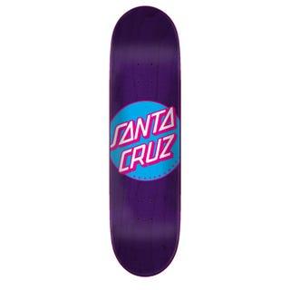 "Santa Cruz Classic Dot Taper Tip 8.5"" Purple"