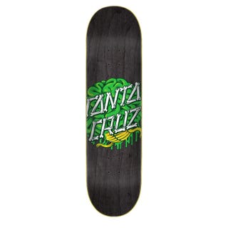 "Santa Cruz Skate Deck - Brain Dot Hard Rock Maple 8.25"""
