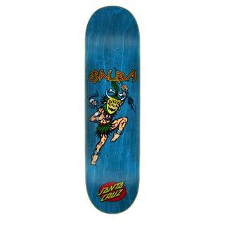 "Santa Cruz Skateboard Decks  - Salba Voodoo 8.6"" Blue"