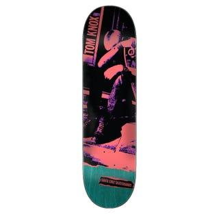"""Santa Cruz Skateboard Decks  - Knox Punk 8.25"""" Multi"""