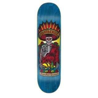"Santa Cruz Skateboard Decks  - Guzman Divine Diner 8.27"" Blue"