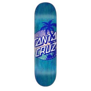 "Santa Cruz Skateboard Decks  - Palm Dot 8.25"" Blue"