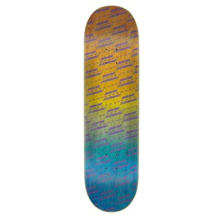 "Santa Cruz Skateboard Decks - Street Strip 8.5"" Orange / Blue"