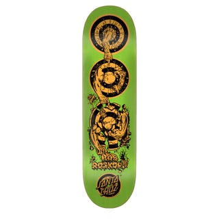 "Santa Cruz Skateboard Decks  - Roskopp Evolution 8.38"" Green"