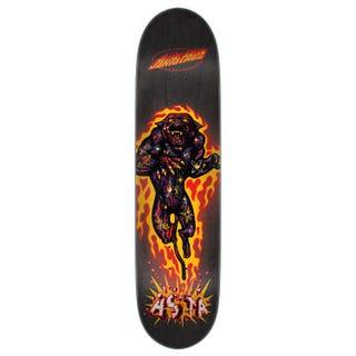 "Santa Cruz Skateboard Decks. Asta Cosmic Cat 8"" Black"
