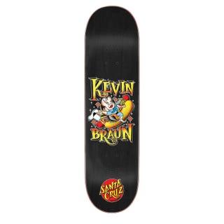 "Santa Cruz Pro Kevin Braun Hotdog Deck 8.25"" Black"