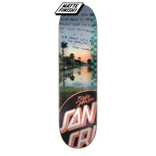 "Santa Cruz Skateboards - Johnson Photo Op 8.38"" Pro Deck"