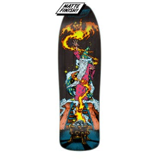 "Santa Cruz Skateboards - Fire Wizard Preissue 9.35"" Deck"