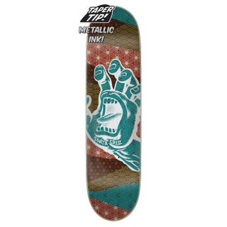 "Santa Cruz - Monyo Hand Taper Tip 8.25"" Skateboard Deck"