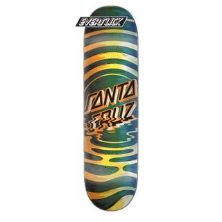 "Santa Cruz Skateboard Decks Europe - Reflection Dot Everslick 8.5"""