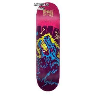 Santa Cruz Skateboard - Kendall Wolf Flashback 8.13 Pro Deck