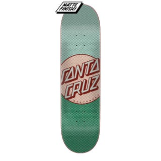 "Santa Cruz Process Dot 8.38"" Skateboard Deck Blue/Green"
