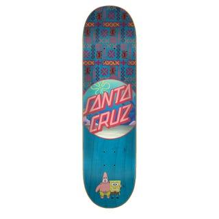 Santa Cruz SpongeBob Best Buds 7.75 Skateboard Deck Multi