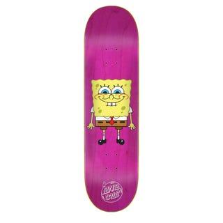 "Santa Cruz EU SpongeBob Squarepants 8"" Skateboard Deck Pink"