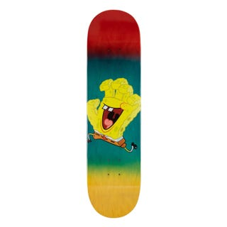 "Santa Cruz SpongeBob Spongehand 8.125"" Deck"