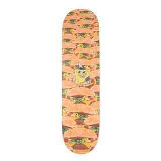 """Santa Cruz EU SpongeBob Krabbie Patties 8"""" Skate Deck Multi"""