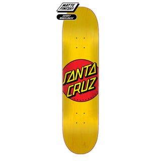 "Santa Cruz Classic Dot 7.75"" Skateboard Deck Multi"