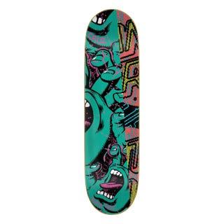 "Santa Cruz No Pattern Hand Everslick 8.5"" Deck Green"