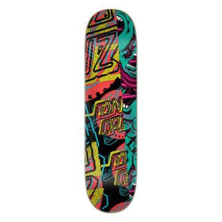"Santa Cruz No Pattern Dot Everslick 8"" Skateboard Deck"