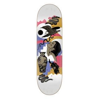 """Dressen Seeker Skateboard Deck 9"""" Multi"""