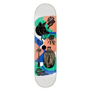 """Jereme Knibbs Seeker Skateboard Deck 9"""" Multi"""