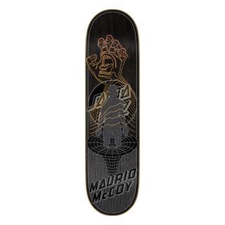 "Santa Cruz McCoy Transcend VX Skateboard Deck 8.25"" Black"