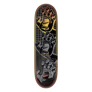 "Santa Cruz Transcend Hands VX 8.8"" Skateboard Deck Black"