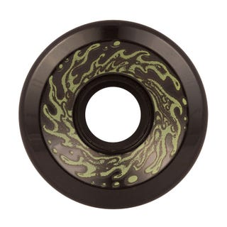 Skateboard Wheels - Santa Cruz Slime Balls OG 78a 60mm Black Glow