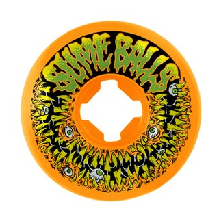 Santa Cruz Shateboard Wheels Slime Balls Munchers Vomit Orange