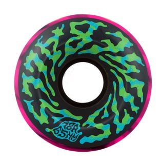 Santa Cruz Slime Ball Wheels EU - Black / Pink Swirl 65mm