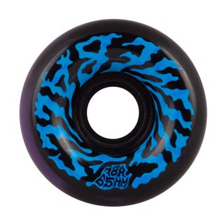Santa Cruz Skateboard Wheels Swirly Slime Balls Black/Purple